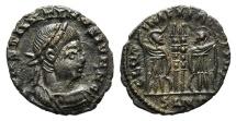 Ancient Coins - Constantine II (Caesar, 316-337). Æ Quarter Follis. Uncertain mint. UNPUBLISHED