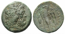 Ancient Coins - Ptolemaic Kings of Egypt, Ptolemy II (285-246 BC). Æ Diobol. Alexandreia, c. 285-261/0 BC. R/ Eagle RARE