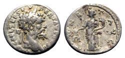 Ancient Coins - Septimius Severus (193-211). AR Denarius - Emesa - R/ Moneta