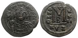 Ancient Coins - Justinian I (527-565). Æ 40 Nummi - Cyzicus, year 22