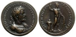 "World Coins - Paduan Medals, Septimius Severus (193-211). Æ ""Medallion"" - Later strike"