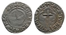 World Coins - Scotland, James III (1460-1488). Æ Penny. Crux Pellit copper issue.