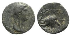 Ancient Coins - Seleukid Kings, Antiochos IV (175-164 BC). Æ - Antioch