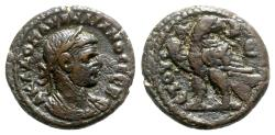 Ancient Coins - Aurelian (270-275). Egypt, Alexandria. BI Tetradrachm - year 5 - R/ Eagle