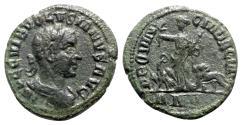 Ancient Coins - Volusian (251-253). Dacia. Æ - year 5