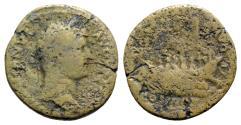 Ancient Coins - Hadrian (117-138). Æ As - R/ Galley