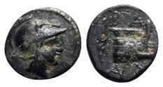Ancient Coins - Kings of Macedon, Demetrios I Poliorketes (306-283 BC). Æ - Salamis - Athena / Prow