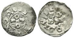 World Coins - Italy, Pavia. Ottone I-II (962-967). AR Denaro.  OTTO. R/ PA PIA