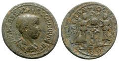 Ancient Coins - Gordian III (238-244). Pisidia, Antioch. Æ - R/ Victories