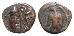 Ancient Coins - Kings of Elymais, Phraates (c. AD 100-150). Æ Drachm.  R/ EAGLE
