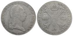 World Coins - Holy Roman Empire. Franz II (1792-1804). AR Kronentaler 1797, C Prague