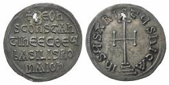 Ancient Coins - Leo V the Armenian, with Constantine. 813-820. AR Miliaresion