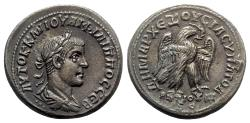 Ancient Coins - Philip II (247-249). Seleucis and Pieria, Antioch. BI Tetradrachm