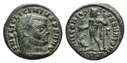 Ancient Coins - Licinius I (308-324). Æ Follis. Siscia, 313-315. R/ Jupiter