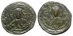 Ancient Coins - Anonymous, time of Romanus IV (1068-1071). Æ 40 Nummi - Constantinople