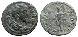 Ancient Coins - Philip II (247-249). Phrygia, Ancyra. Æ - R/ Dionysos