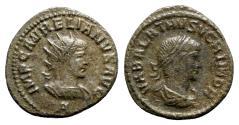 Ancient Coins - Aurelian and Vabalathus (270-275). Radiate - Antioch