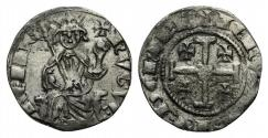 Ancient Coins - CRUSADERS, Lusignan Kingdom of Cyprus. Hugh IV. 1324-1359. AR Gros. Second series. Famagusta mint.