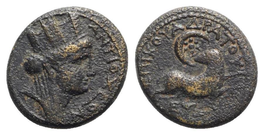Ancient Coins - Seleucis and Pieria, Antioch. Pseudo-autonomous issue, time of Nero (54-68). Æ