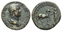 Hadrian (117-138). Æ Sestertius. Rome, 134-8. R/ MAURETANIA