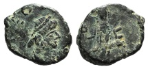 Ancient Coins - Leo I (457-474). Æ 11mm