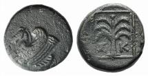 Ancient Coins - Troas, Skepsis, c. 400-310 BC. Æ 14.5mm