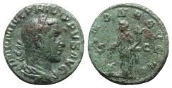 Ancient Coins - Philip I (244-249). Æ As - Rome - R/ Annona