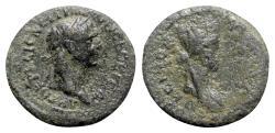 Ancient Coins - Trajan (98-117). Koinon of Syria. Æ Hexachalkon - R/ Tyche