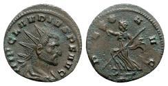 Ancient Coins - Claudius II (268-270). Radiate - Mediolanum - R/ Pax