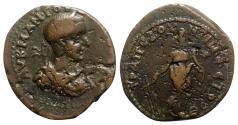 Ancient Coins - Gordian III (238-244). Pontus, Trapezus. Æ - R/ Tyche - RARE