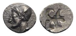 Ancient Coins - Ionia, Phokaia, c. 510-494 BC. AR Diobol