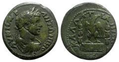 Ancient Coins - Caracalla (198-217). Moesia Inferior, Kallatis. Æ - R/ Eagle
