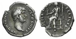 Ancient Coins - HADRIAN. 117-138 AD. AR Denarius. Struck 134-138 AD. / VENUS