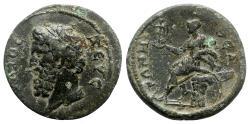 Ancient Coins - Lydia, Sardeis. Pseudo-autonomous issue, time of Trajan-Hadrian (98-138). Æ
