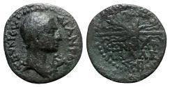 Ancient Coins - Augustus (27 BC-AD 14). Cilicia, Olba. Æ - Ajax priest, year 2