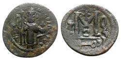 Ancient Coins - Islamic, Umayyad Caliphate. Uncertain period (pre-reform), AH 41-77 / AD 661-697. Æ Fals