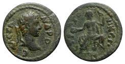Ancient Coins - Severus Alexander (222-235). Caria, Stratonicea. Æ - R/ Zeus