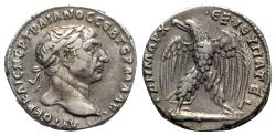 Ancient Coins - Trajan (98-117). Seleucis and Pieria, Antioch. AR Tetradrachm