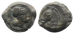 Ancient Coins - ROME REPUBLIC Anonymous, Rome, c. 269 BC. Æ 18mm