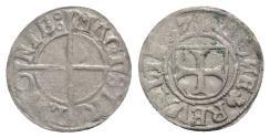 World Coins - Livonia, Herman von Bruggeney (1535-1547). BI Schilling 1537, Reval