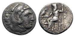 Ancient Coins - Kings of Macedon, Antigonos I Monophthalmos (Strategos of Asia, 320-306/5 BC, or king, 306/5-301 BC). AR Drachm - Lampsakos