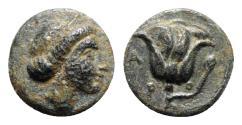 Ancient Coins - Caria, Rhodes, c. 404-385 BC. Æ