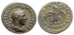 Ancient Coins - Philip I (244-249). Seleucis and Pieria, Antioch. AR Tetradrachm