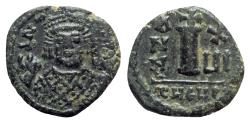 Ancient Coins - Maurice Tiberius (582-602). Æ 10 Nummi - Antioch, year 16