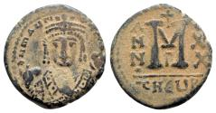 Ancient Coins - Maurice Tiberius (582-602). Æ 40 Nummi - Antioch, year 20