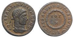 Ancient Coins - Constantine II (Caesar, 316-337). Æ Follis. Siscia, 321-324.