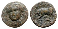 Ancient Coins - Ionia, Phygela, c. 294-281 BC. Æ