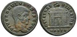 Ancient Coins - Romolus, son of Maxentius Follis Ostia circa 310 RARE and NICE