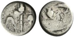 Ancient Coins - Mark Antony and Lepidus, military mint in Transalpine Gaul, May-Summer 43 BC. AR Quinarius
