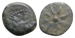 Ancient Coins - Judaea, Hasmoneans. Alexander Jannaios (103-76 BCE). Æ Prutah